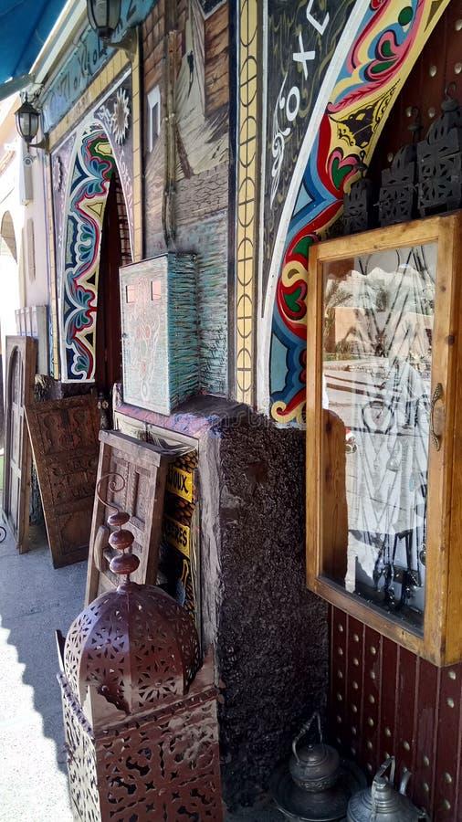 历史纪念碑摩洛哥tiznit 免版税库存图片