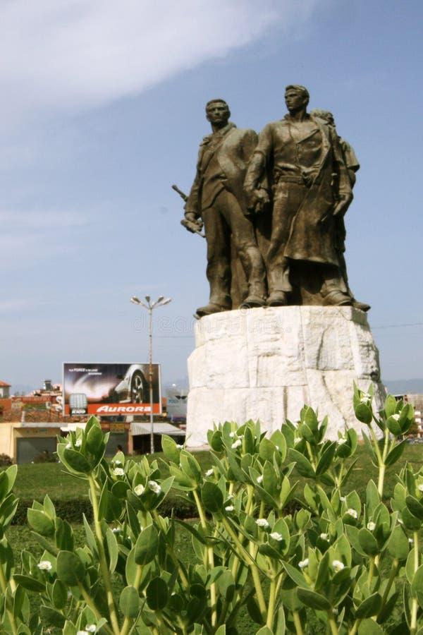 历史纪念碑 免版税库存图片