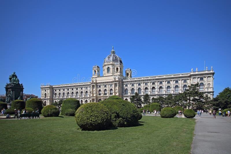 历史记录博物馆自然维也纳 图库摄影