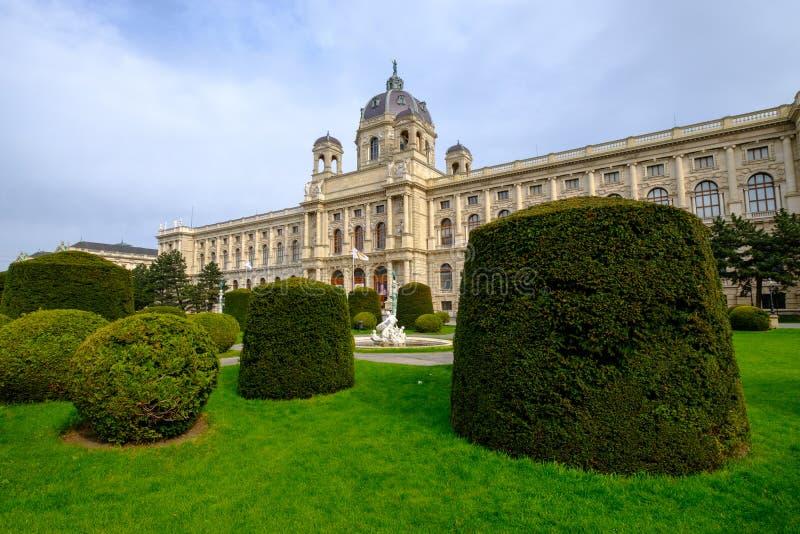 历史记录博物馆自然维也纳 库存图片