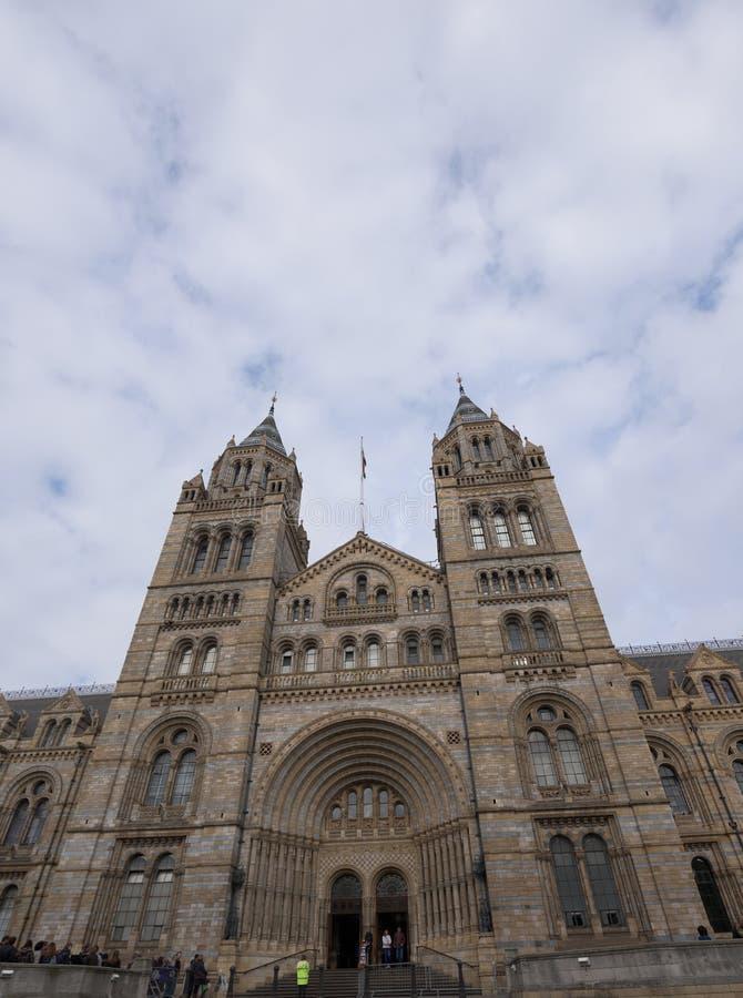 历史记录自然伦敦的博物馆 免版税图库摄影