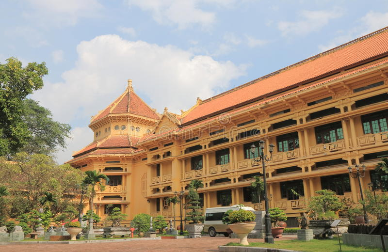 历史越南国家博物馆  免版税库存照片