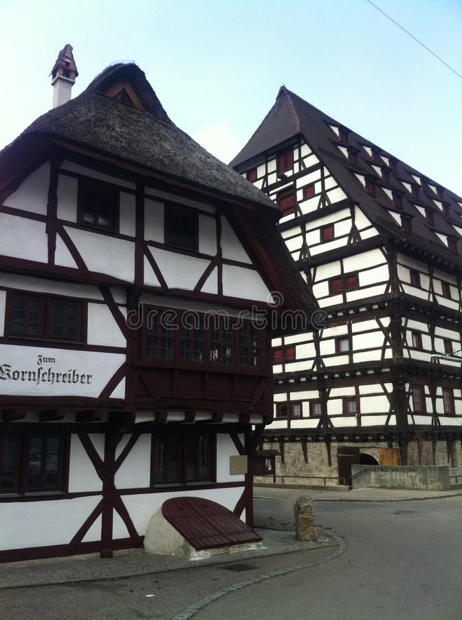 历史建筑在德国 库存照片