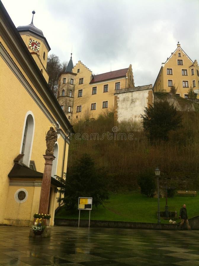 历史建筑在德国 免版税图库摄影