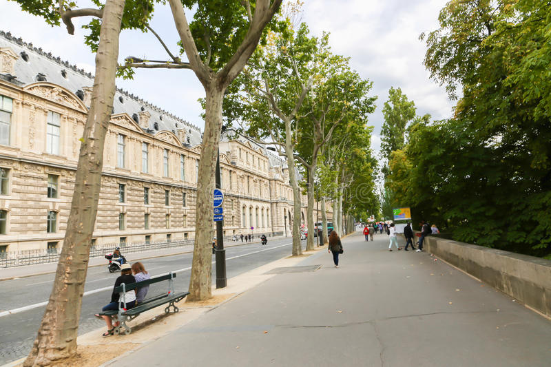 历史建筑在巴黎 库存图片