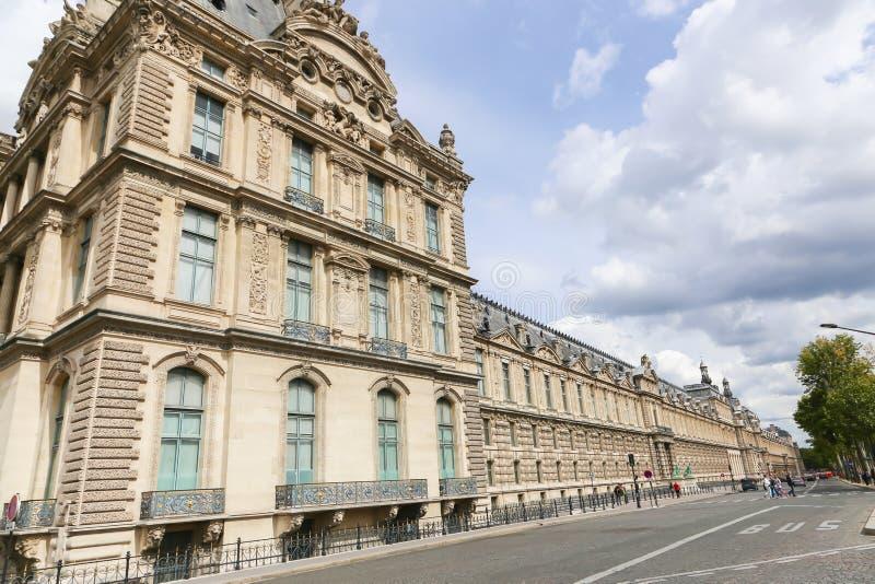 历史建筑在巴黎 免版税库存照片