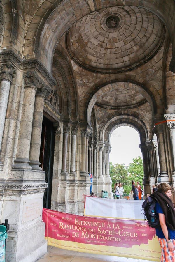 历史建筑在巴黎 免版税库存图片