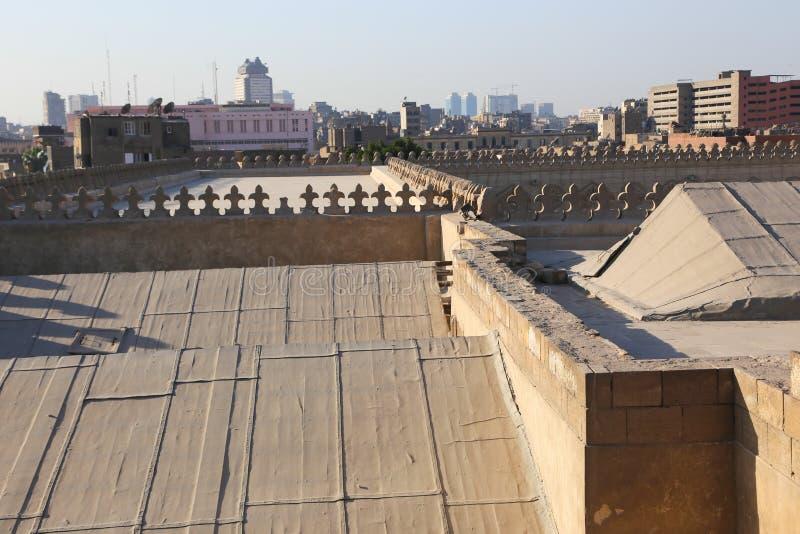 历史建筑老开罗,埃及 库存图片