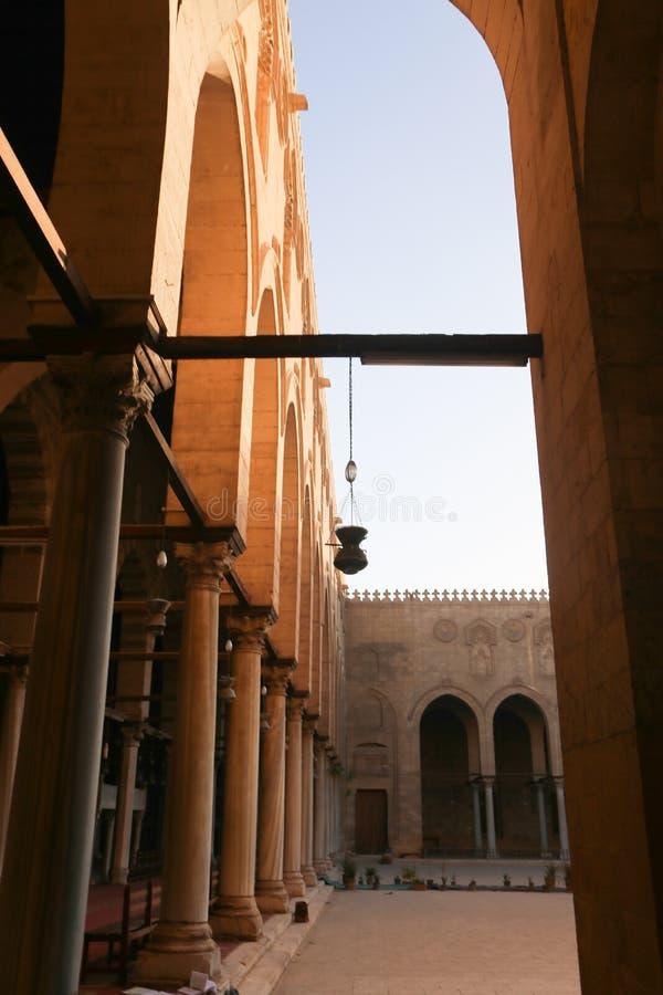 历史建筑老开罗,埃及 免版税库存图片