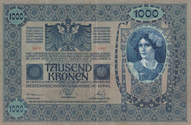 历史-钞票 免版税库存照片