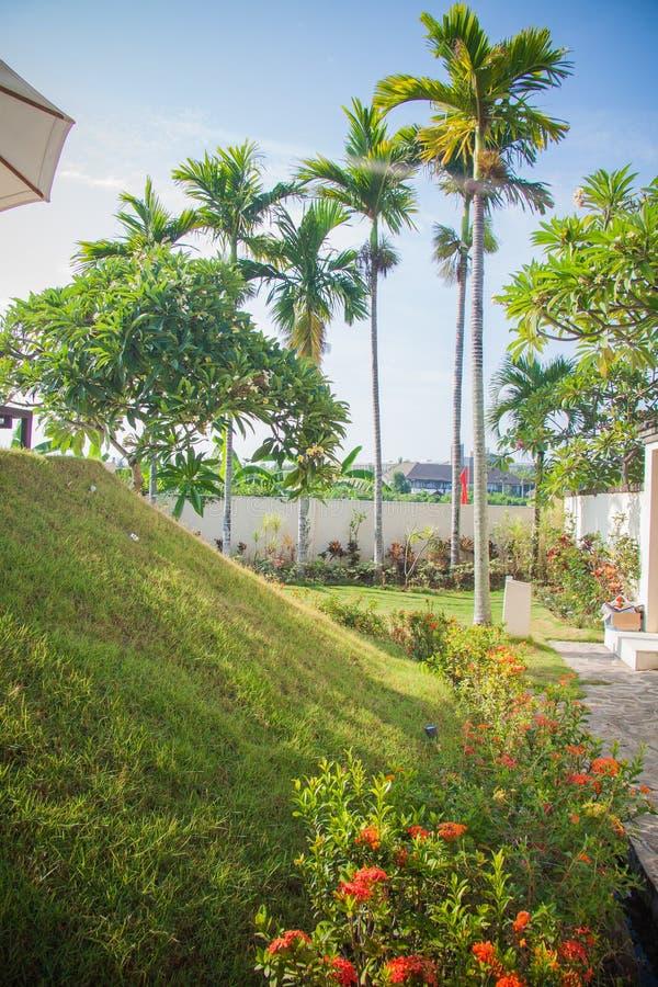 巴厘岛度假旅馆 库存照片