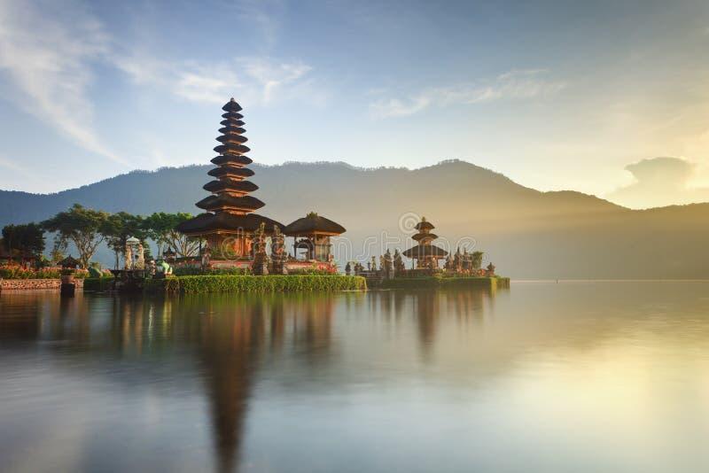 巴厘岛danu寺庙ulun 免版税图库摄影