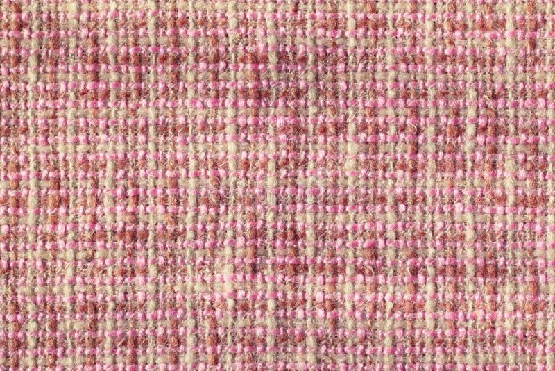 厚实的羊毛织品纹理  库存图片