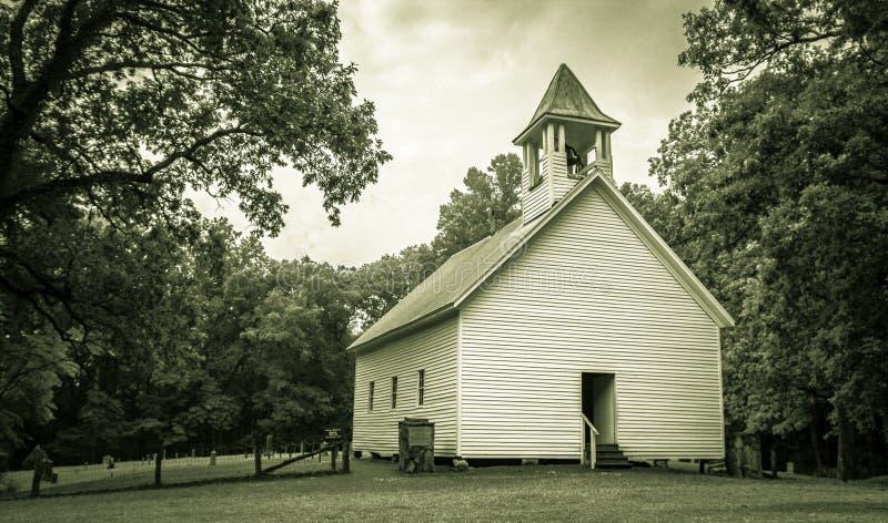 原始施洗约翰教堂 免版税库存图片