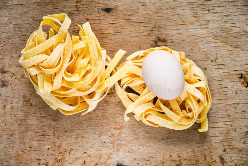 原始的意大利面食 库存图片