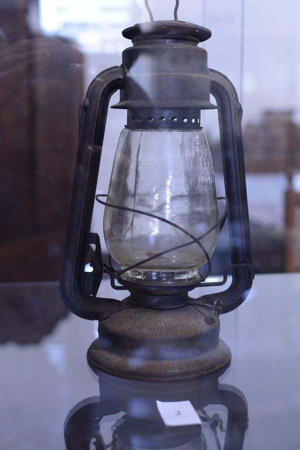 原始的移民灯 免版税库存照片