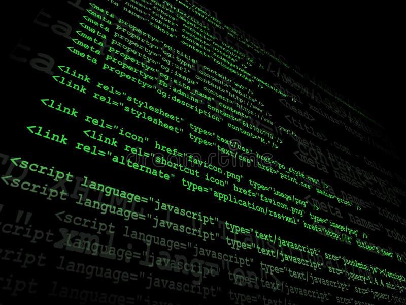 原始代码 向量例证