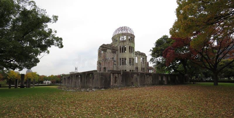 原子弹圆顶,广岛,日本 库存图片