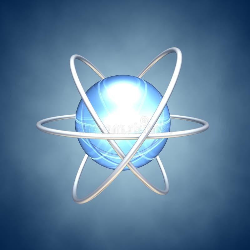 原子行星 库存例证