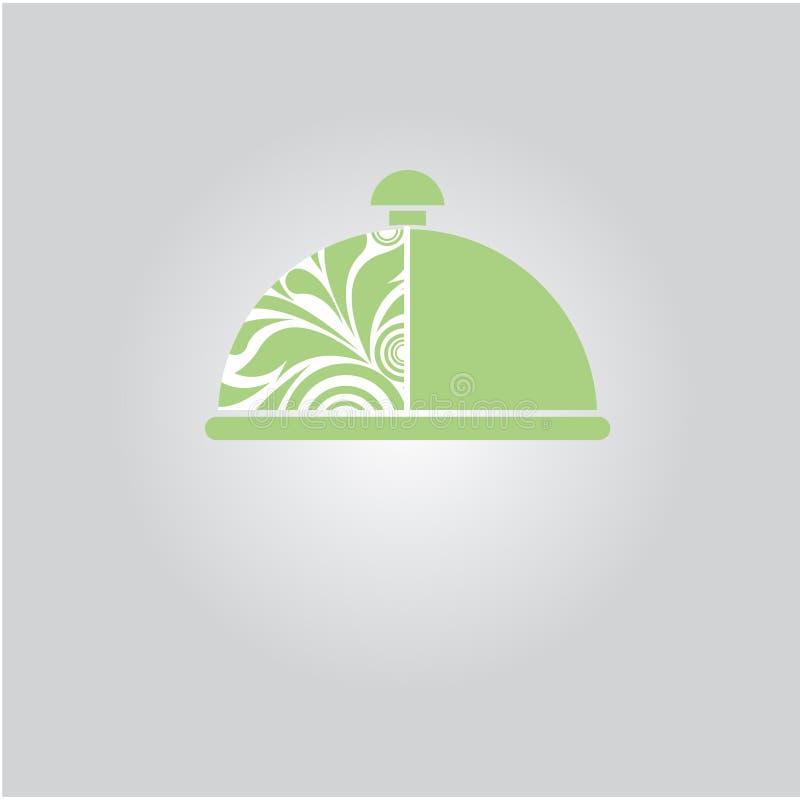 主厨图标例证向量 向量 免版税库存图片