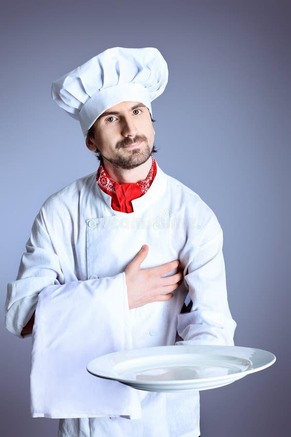 厨师专业人员 免版税库存图片