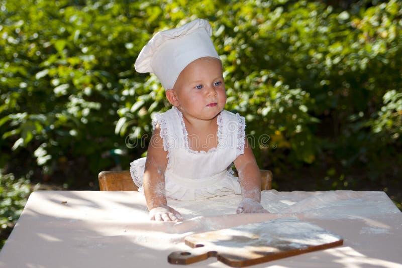 厨师准备好 库存图片