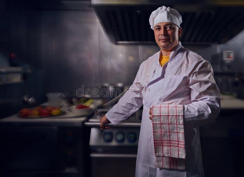 厨师厨师,任何目的了不起的设计 烹调概念 厨房画象 健康的食物 概念饮食 厨师概念 库存照片
