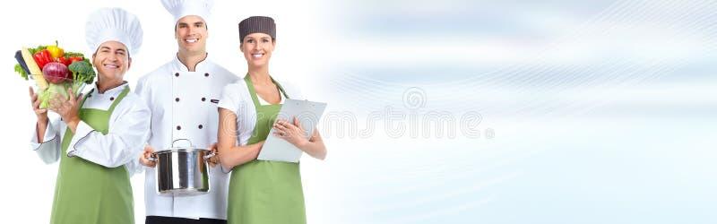 厨师小组 免版税库存照片