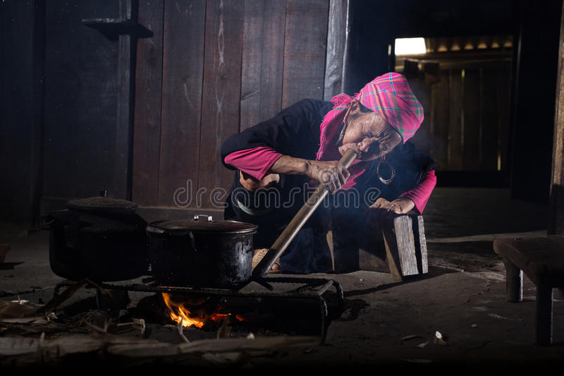 厨师米 免版税库存照片