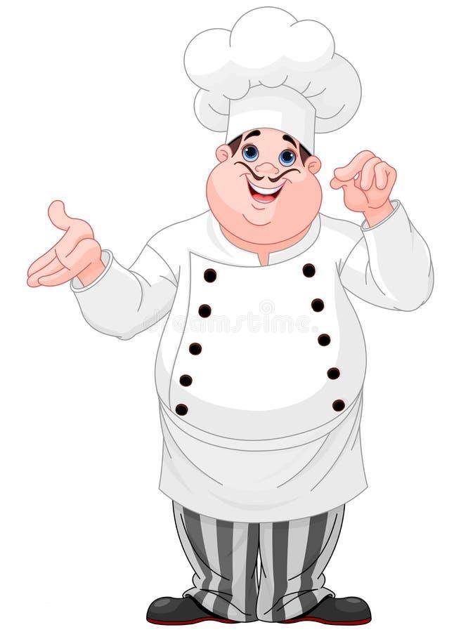 厨师 库存例证