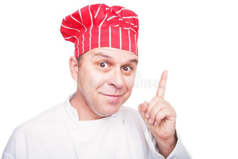 主厨微笑 免版税库存图片