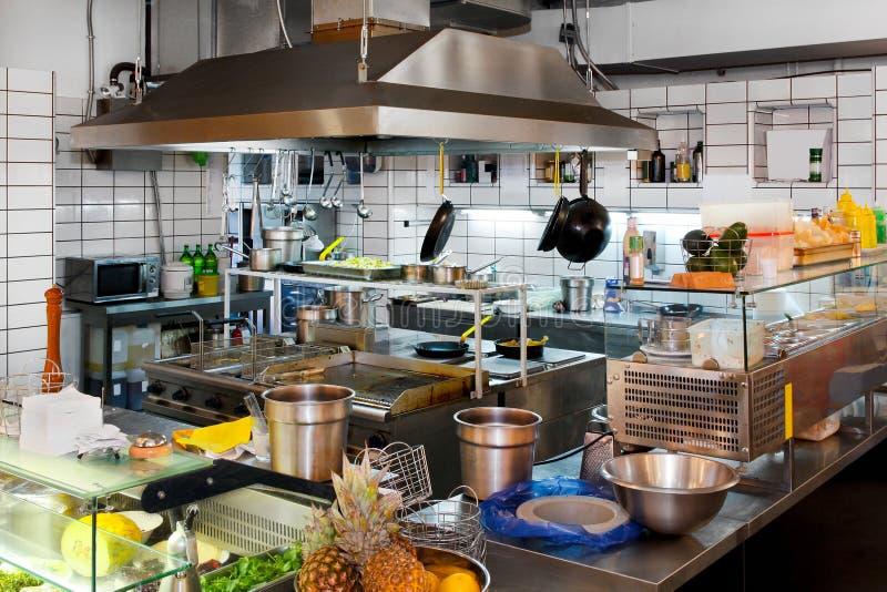 厨房专业人员 库存图片