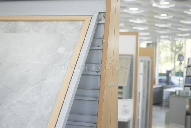 厨房卫生间瓦片显示 免版税图库摄影
