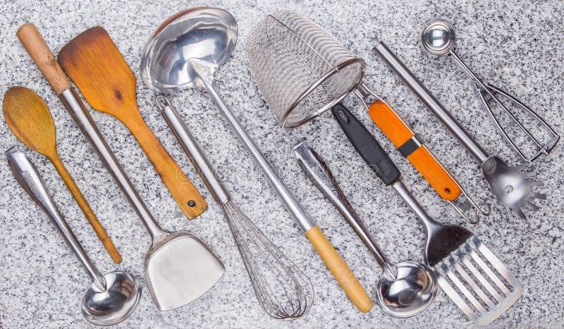 厨房器物II 库存照片