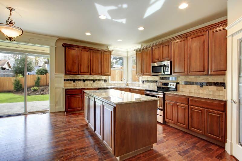 厨房室设计 库存照片