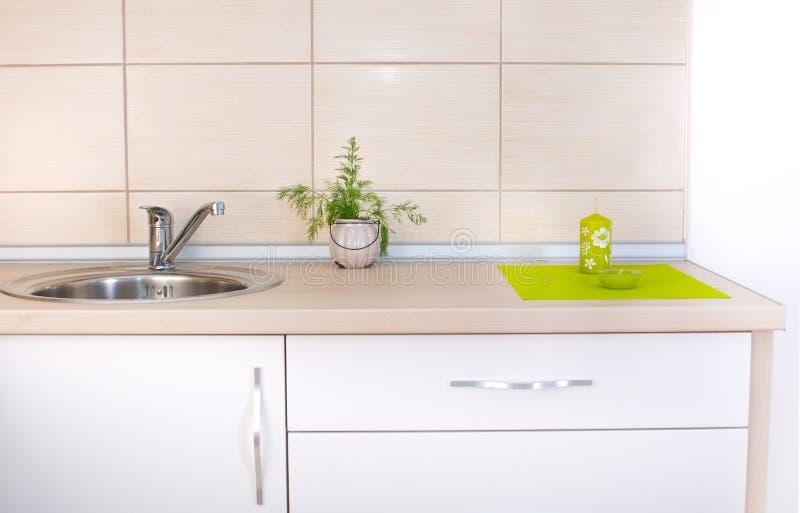 厨房工作台面 免版税库存图片