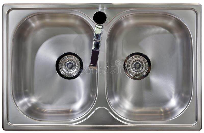 厨房水槽保险开关 库存图片