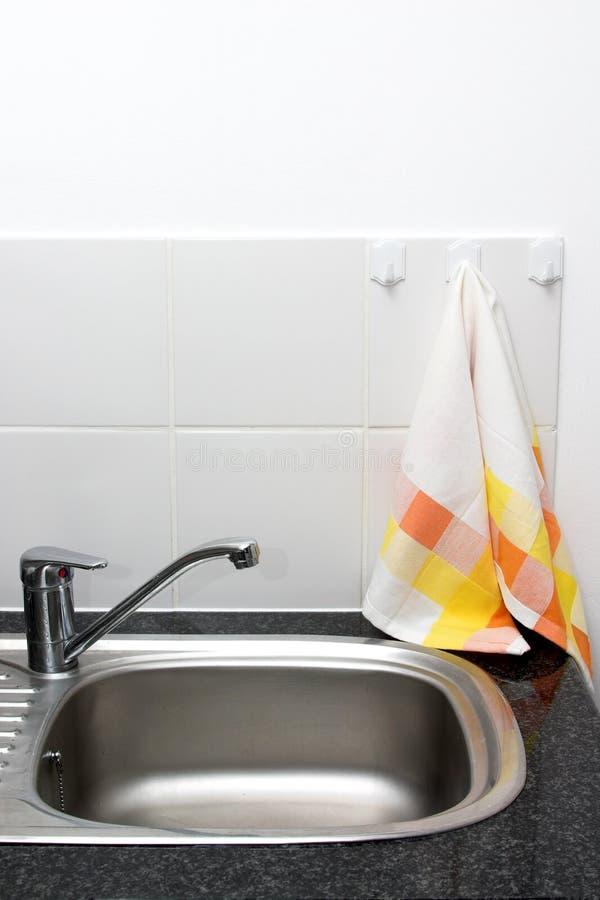 厨房水槽 图库摄影