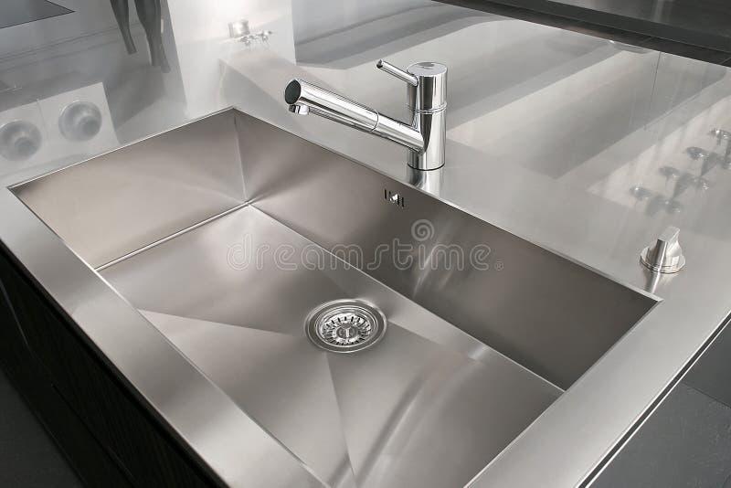 厨房水槽 库存照片