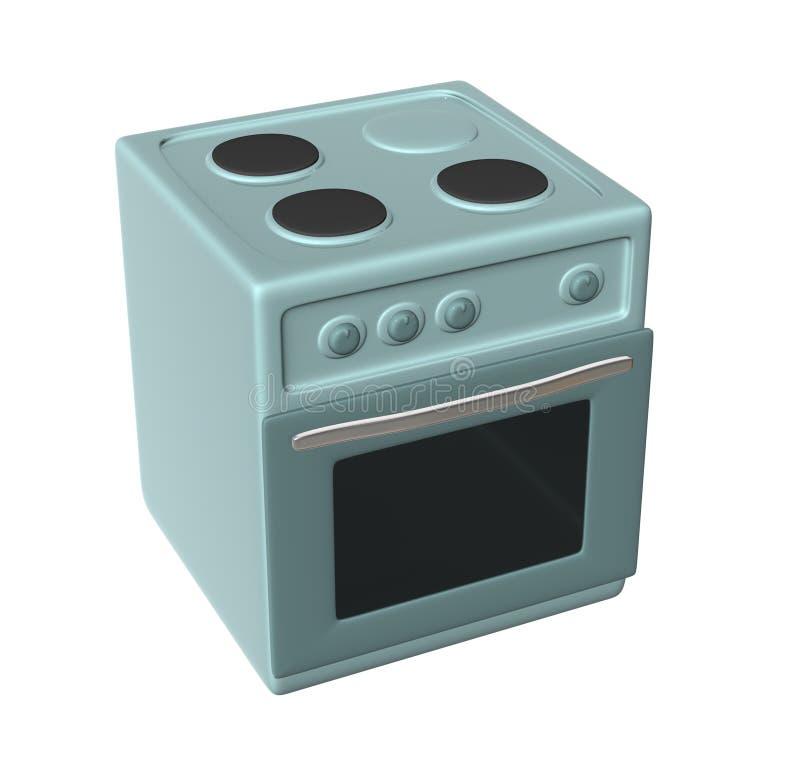 厨房烤箱 免版税库存图片