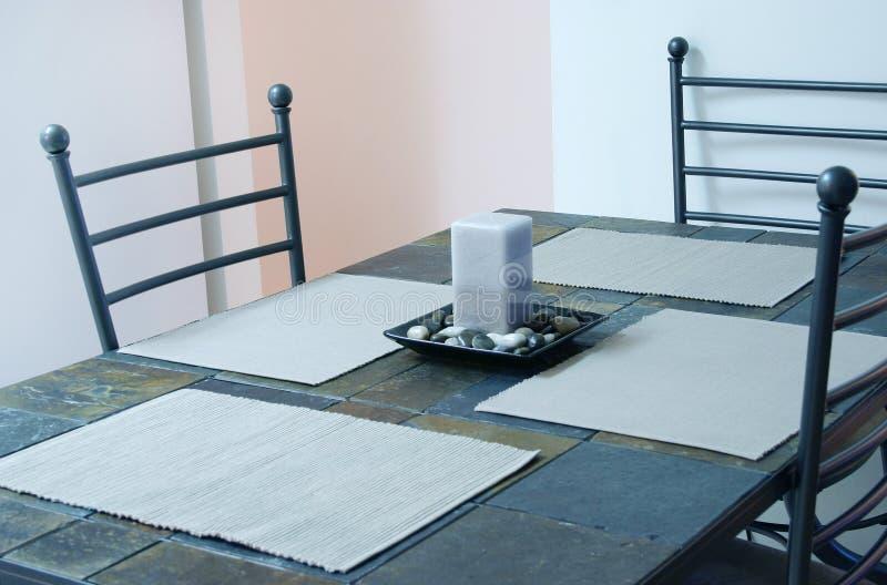 厨房用桌 库存图片