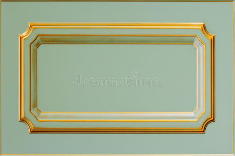 厨房的门面 背景框架 免版税库存照片