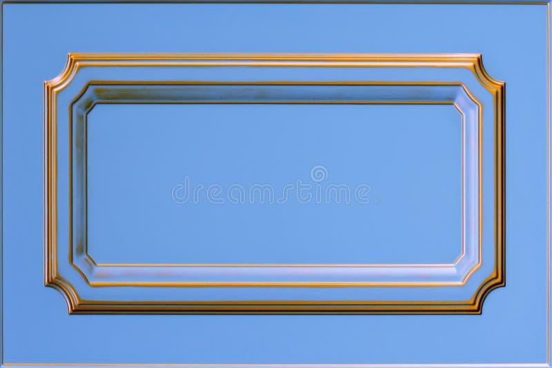 厨房的门面 背景框架 库存照片