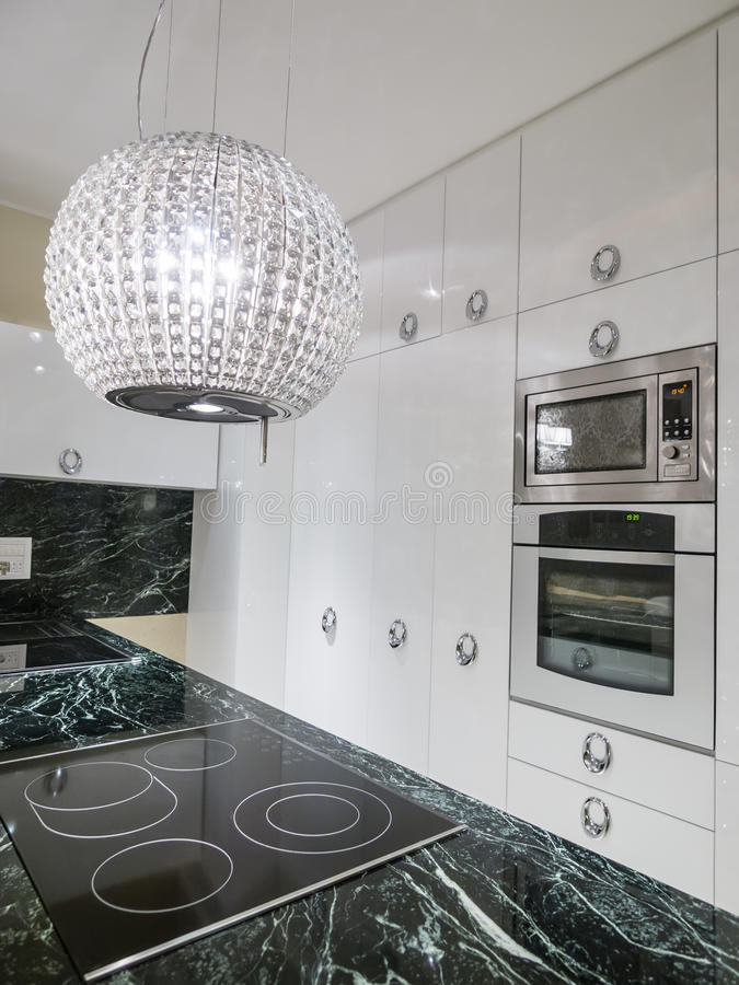 厨房设计 免版税库存图片