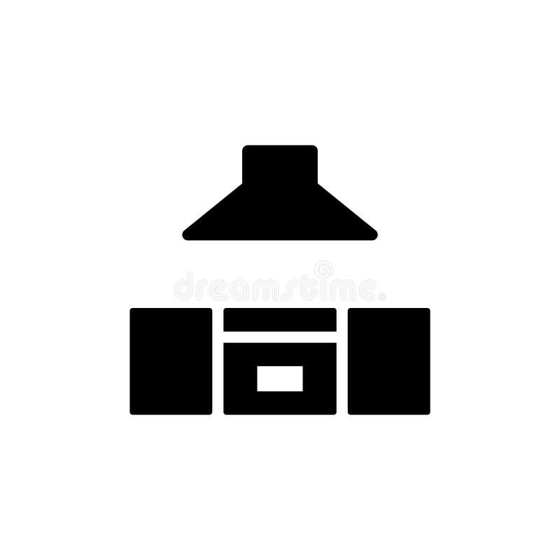 厨房象舱内甲板 免版税库存照片