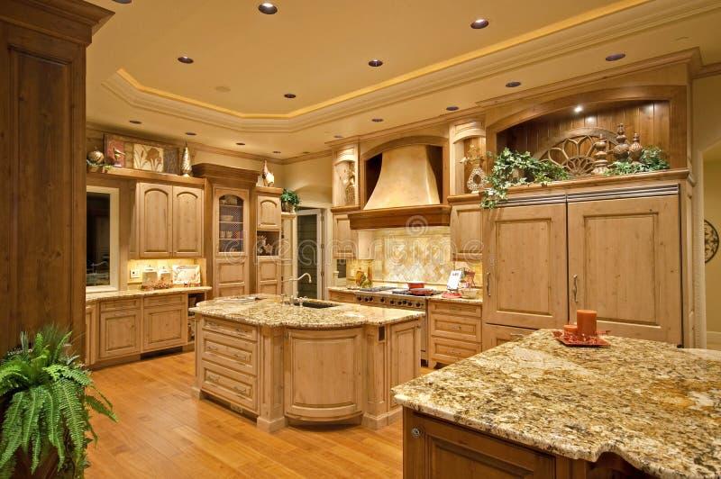 厨房豪华 免版税库存照片