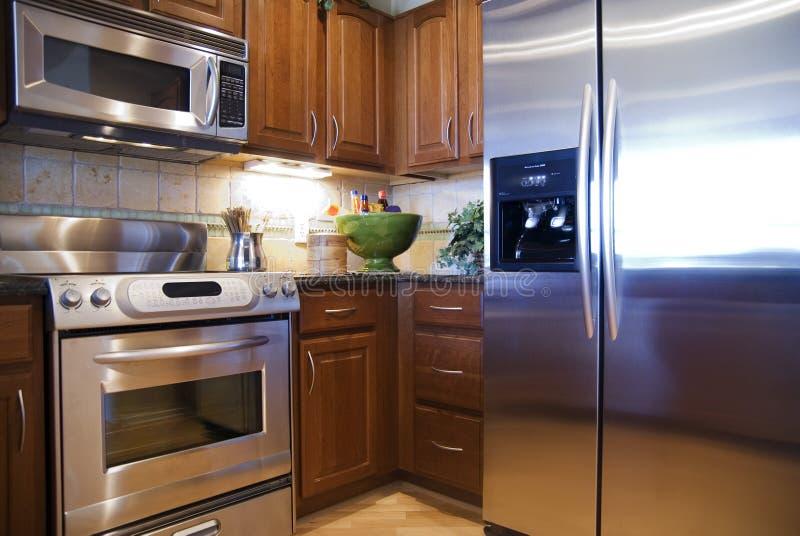 厨房豪华 免版税库存图片