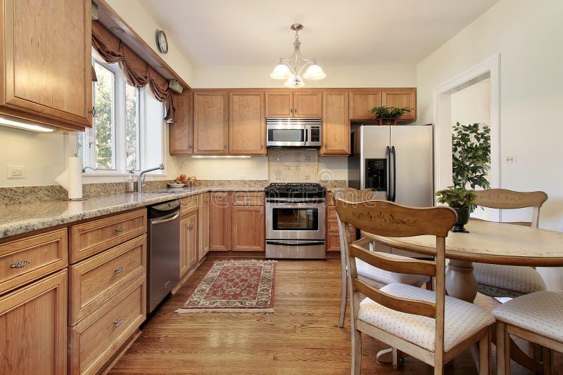 厨房铣板木头 库存图片