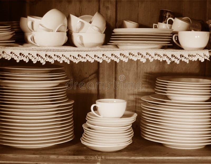 厨房集 免版税图库摄影