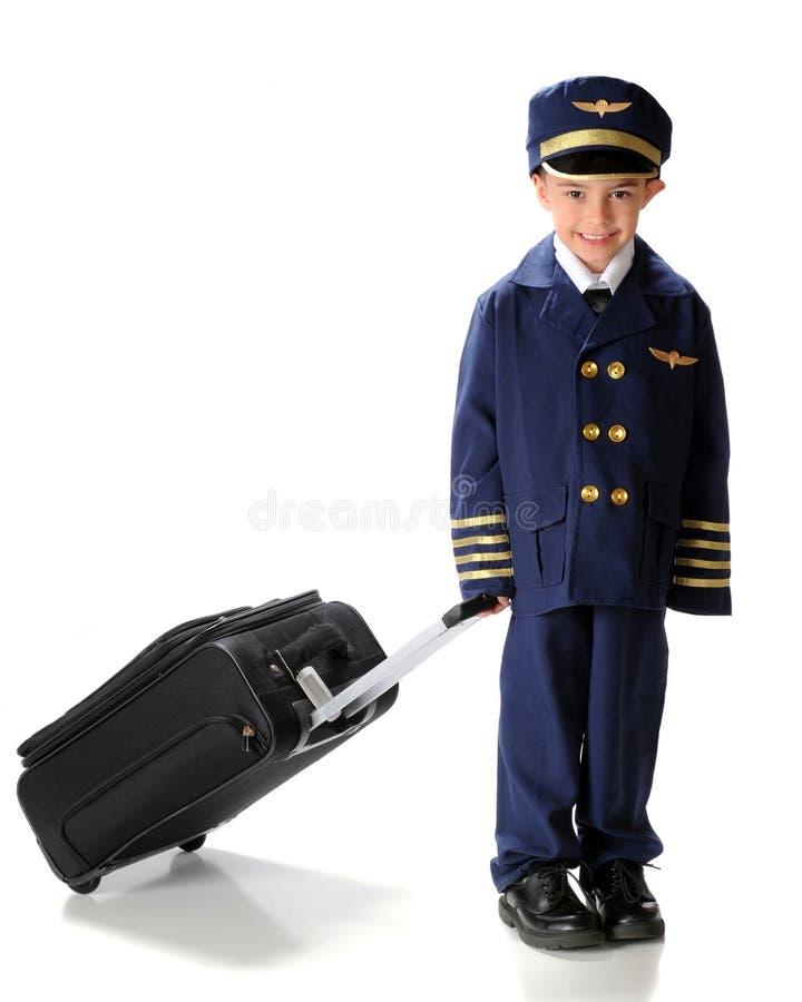 去小飞行员 免版税库存照片